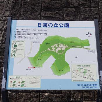 近くに良さそうな公園がありましたよ。緑尽くしですね。