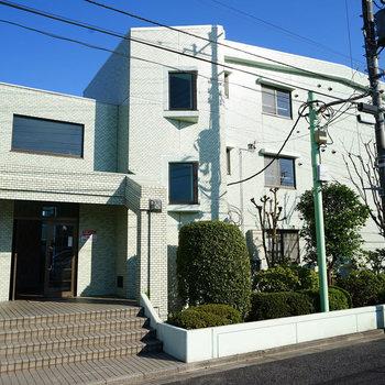 鉄筋コンクリートの綺麗なマンション♪※同間取り別部屋の写真です。