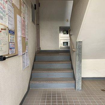 階段上がって左側のお部屋です。