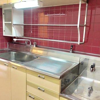広めなキッチンですね! ガスコンロ設置可能です!