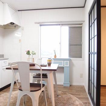 【DK】コンパクトな家具を置いて※写真は前回募集時のものです