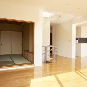 【上階】和室もありますよ。