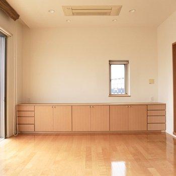 【上階】エアコンは全て、天井埋め込み式です。