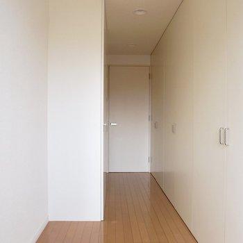 【下階】洋室となりの収納スペースです。