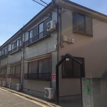 2階建てのアパートです。