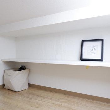 なんと床下収納もあるのです。※写真は2階の反転間取り別部屋、モデルルームのものです