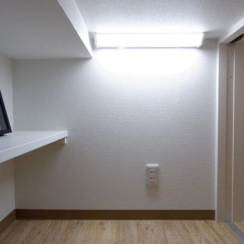 照明もついていて、加えて大容量。アウトドアなど楽しまれる方にも嬉しいポイント!※写真は2階の反転間取り別部屋、モデルルームのものです