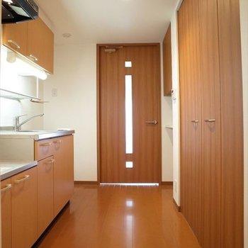 こんだけスペースがあるといいですね!※写真は2階の同間取り別部屋のものです
