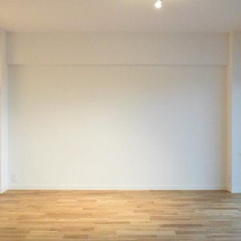 カウンター前もスペース十分です!お好きな家具で彩りましょう
