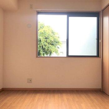 【洋室②】右には小さめの収納。