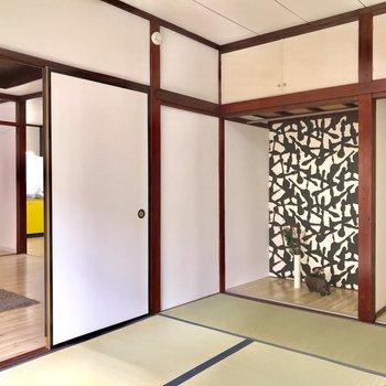 【和室】和室もありますよ※家具はサンプルになります