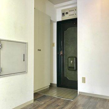 玄関は少しコンパクトかな