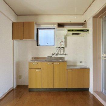 【DK】横には冷蔵庫が置けます◎※写真は通電前のものです