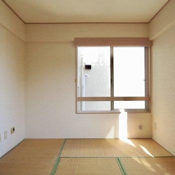 【和室】ここでお昼寝するの気持ちよさそう※写真は通電前のものです