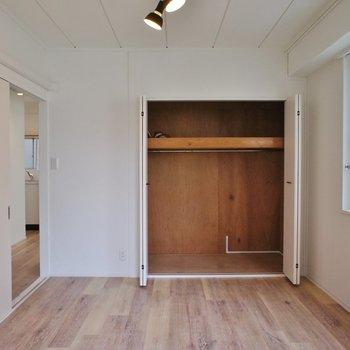 【洋室】大容量!※写真は5階の同間取り別部屋のものです