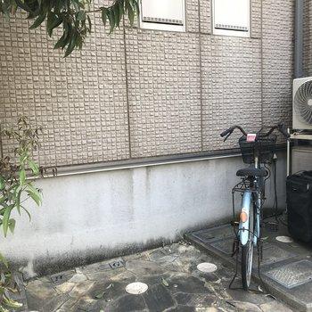 自転車通勤もできますね〜