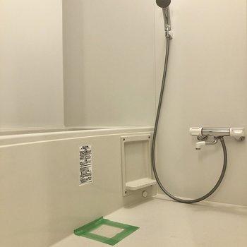 お風呂は浴室乾燥機能付きです。