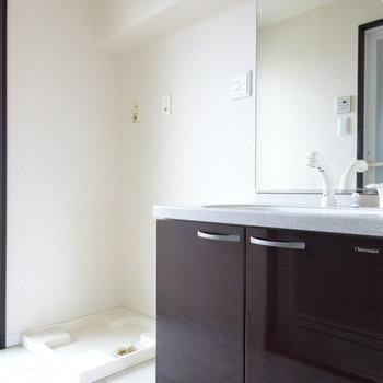 ホテルのようなゴージャス洗面台