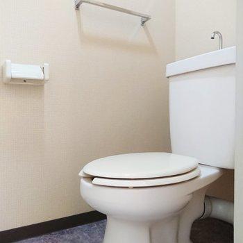 トイレが個室なので、匂いが移る心配が少ないのがGOOD。