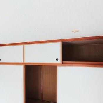 【和室】洋室と同じ大きさの収納もあります。