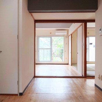 【DK】お部屋の全体像が見て取れます。
