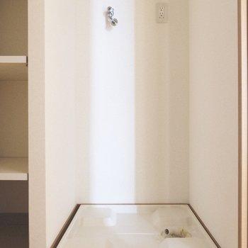洗濯パンは脱衣所に。