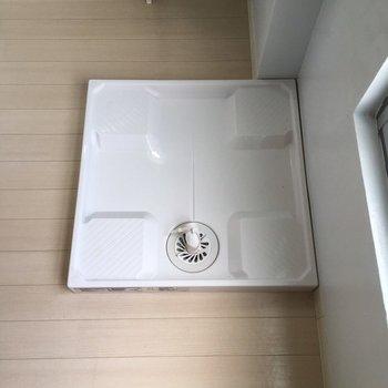 洗濯機置き場はちょっと不思議な場所です…