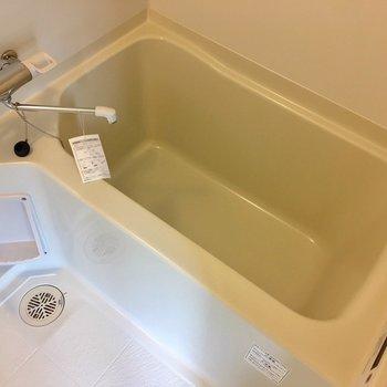 お風呂はちょうどいいサイズ感です