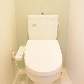 トイレはすっきりシンプルに