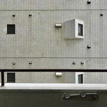 眺望はお隣の建物。