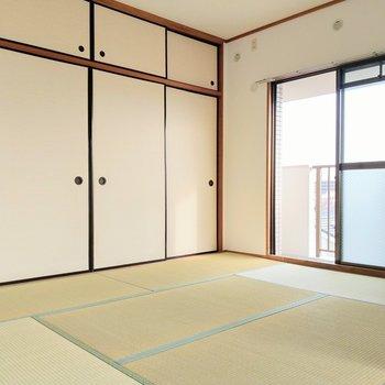 和室って子ども部屋にするには便利!ごろんとお昼寝も気持ちよさそう。