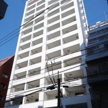 15階建ての新築マンション現る!!