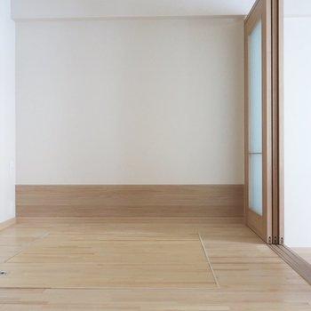 ここはやっぱり寝室ですねっ♪※写真は2階の同間取り別部屋のものです