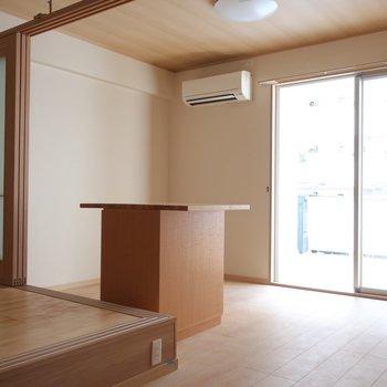 ナチュラルな雰囲気が素敵♥※写真は2階の同間取り別部屋のものです