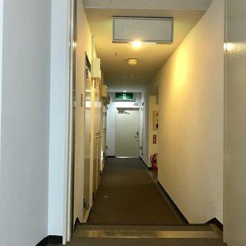 お部屋の数が多く、廊下もながながと