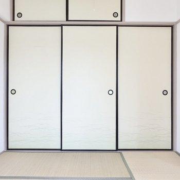 日本人の醍醐味な和室もあります! (※写真は5階同間取り別部屋のものです)