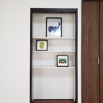 【LDK】ここに本を置いて趣味の共有を。※家具はサンプルのものです