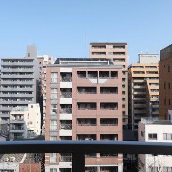 さすが都会な眺望です