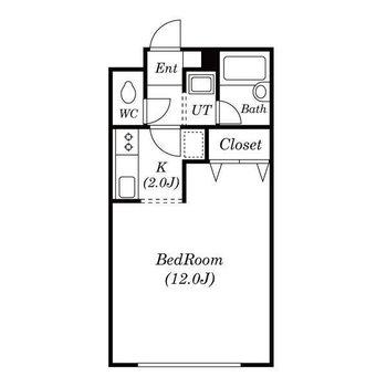一人暮らしサイズのお部屋!