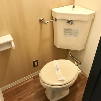 トイレはこちら。ウォシュレットはないです、、、!