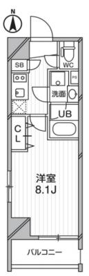 レオーネ錦糸町タワービューの間取り