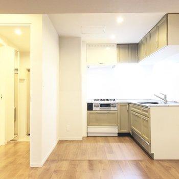【LDK】大きなキッチンは料理のモチベーションが高まります!