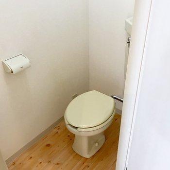 トイレはこちら!