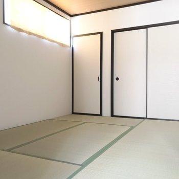 和室は寝室として使いたいな