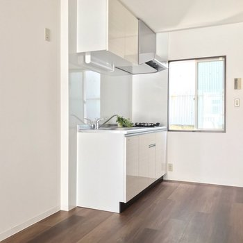 冷蔵庫にキッチン家電、なんでもサイズを気にせず置けます