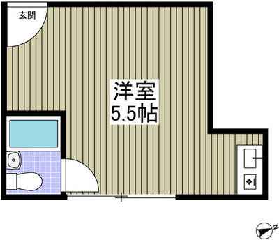 UPPER HOUSE上石神井 の間取り