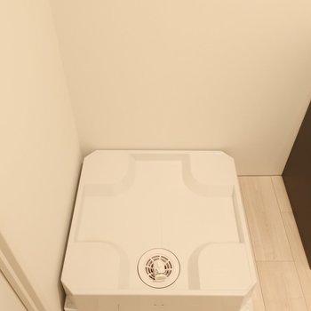 洗濯パンも脱衣所に(※写真は2階同間取り別部屋のものです)
