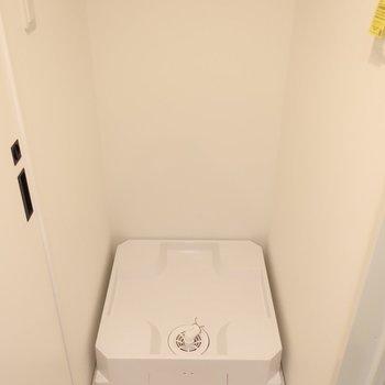 洗濯パンは脱衣所に完備されています(※写真は2階同間取り別部屋のものです)