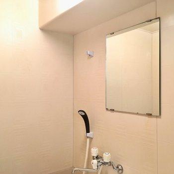 鏡のサイズはちょい大きめ。