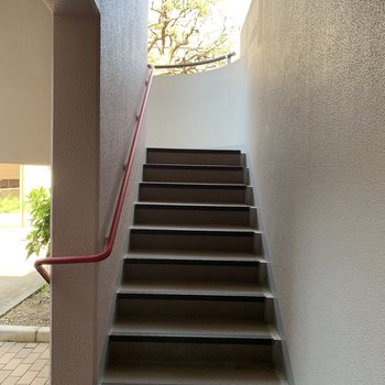 階段であがっても◎